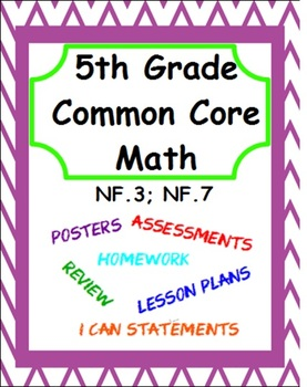 5th Grade Common Core Math - Module 6