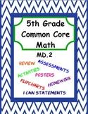 5th Grade Common Core Math - Module 8