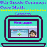 Geometry Videos  for 5th Grade
