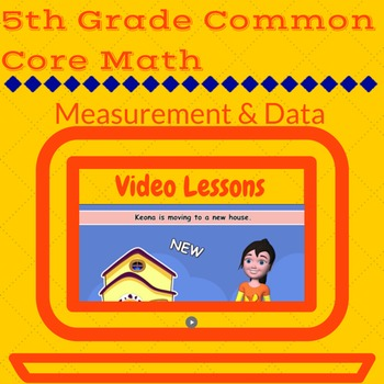 5th Grade Measurement and Data Video Activities