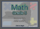 NEW YORK NYSTP Review - 5th Grade Common Core Math Review Program