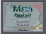 BOGO Pennsylvania Math PSSA - 5th Grade Common Core Math Review Program