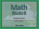 Virginia SOL - 5th Grade Common Core Math Review Program -
