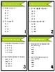 5th Grade Common Core Math Test Prep Task Cards (Printable)