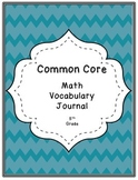 5th Grade Common Core Math Vocabulary Book