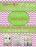 5th Grade Common Core Math Vocabulary Interactive Notebook