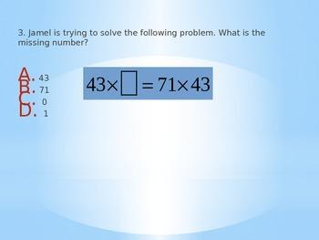 5th Grade Common Core Multiplication Bingo