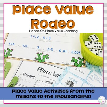 5th Grade Place Value Centers