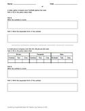 5th Grade Common Core Place Value Review Packet
