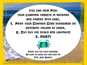 5th Grade Common Core Posters Language Standards