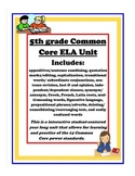 5th Grade Common Core ELA Yearly Review