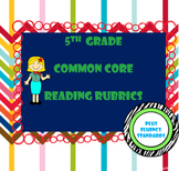 5th Grade Common Core Reading Standards Rubrics