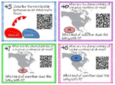 BUNDLE 5th Common Core Science Task Cards{NC Essential Standard}{QR Code}