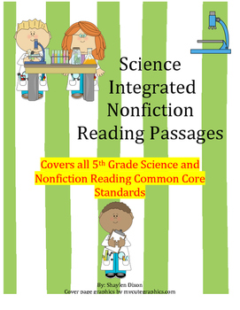 5th Grade Common Core Science/ELA Integrated Nonfiction Reading Passages