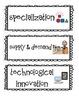 5th Grade Common Core Social Studies Academic Language