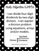 5th Grade Rdg & Math Common Core Checklists, Examples & I Can Statements Blk/Wht