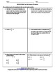 5th Grade Common Core Standards Division of Fractions Test