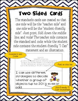 "5th Grade Common Core Standards Posters- ""Kid Friendly"""