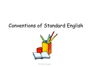 5th Grade Common Core Student Friendly ELA Standards for Posting