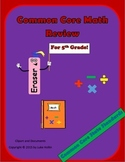 5th Grade Common Core All Math Standards Review Packet