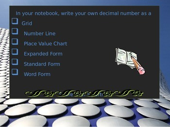 5th Grade Common Core Unit 2  Decimals Interactive Notebook Power Point