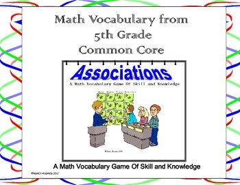 5th Grade Common Core Vocabulary Game