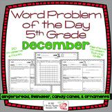 Word Problems 5th Grade, December, Spiral Review, Distance