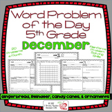 Word Problems 5th Grade, December