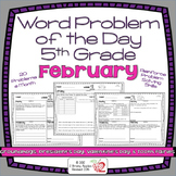 Word Problems 5th Grade, February, Spiral Review, Distance