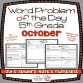 Word Problems 5th Grade, October, Spiral Review, Distance