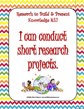 5th Grade WRITING COMMON CORE Checklists, I Can Statements, Anchor Charts & More