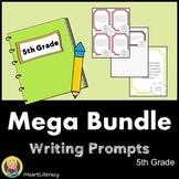 Writing Prompts 5th Grade Common Core Year Long Mega Bundle