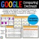 5th Grade Comparing Decimals & Ordering Decimals {5.NBT.3B} - Google Classroom