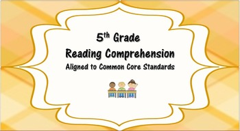Reading Comprehension for 5th Graders