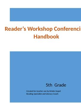 5th Grade Reader's Workshop Conferencing Handbook