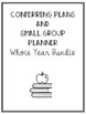 5th Grade Conferring Plans and Small Group Planner: WHOLE YEAR BUNDLE