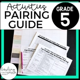 5th Grade Curriculum and Activities Pairing Guide