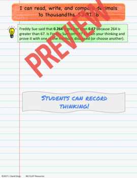 5th Grade DIGITAL Interactive Notebook - Num & Ops in Base 10 - GOOGLE DRIVE