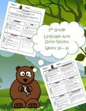 5th Grade Daily Language Arts Spiral Review (Weeks 29-32)