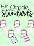 5th Grade Data Binder *EDITABLE*