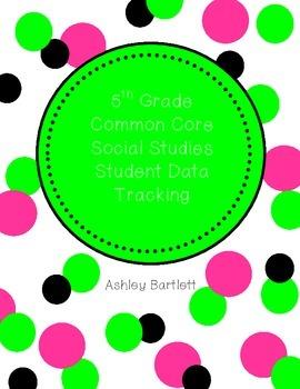5th Grade Data Notebook- Social Studies