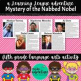 5th Grade December Reading Adventure- Mystery of the Nabbed Nobel