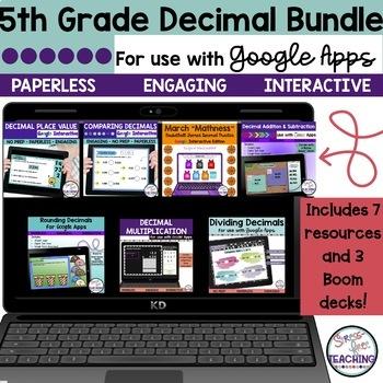 5th Grade Decimal Bundle