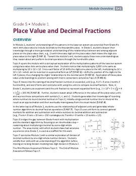 5th Grade Decimals and Fractions Lessons, Worksheets, and Exit Tickets