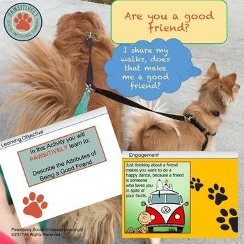 5th Grade - Describe the Attributes of Good Friends Activity