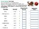 5th Grade Differentiated Thanksgiving Menus Math Activities