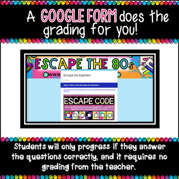 5th Grade Digital Escape Room Math Review or 6th grade Back to School Activity