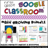5th Grade Digital Math Centers & Activities GROWING/ENDLES
