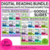 Digital Reading Bundle Fiction & Nonfiction for Google Sli