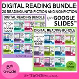 5th Grade Digital Reading Bundle: Fiction and Nonfiction f